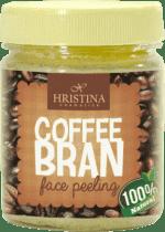 HRISTINA Prírodný peeling z kávových zrniečok, 200ml