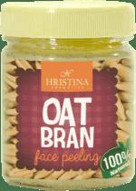 HRISTINA Přírodní peeling z ovesných otrub, 200 ml