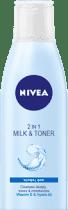 NIVEA 2 w 1 oczyszczające mleczko i tonik 200 ml