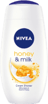NIVEA Sprchový gel Honey Milk 250ml