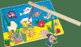 BINO Puzzle - gra magnetyczna – Akwarium