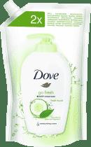 DOVE tekuté mydlo svieži dotyk (náhradná náplň) 500ml