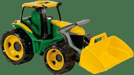 LENA Traktor z łyżką, zielono-żółty