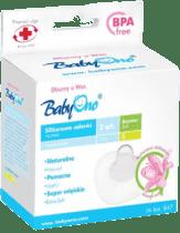 BABY ONO Silikónová ochrana prsných bradaviek/S