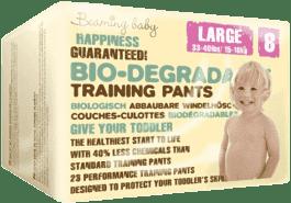 BEAMING BABY Junior, 23 ks (15-18 kg) – bio naťahovacie plienkové nohavičky