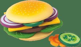 WOODY Připrav si svůj hamburger