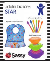 SASSY Jídelní balíček (kluk) STAR