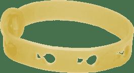 Repelentný náramok proti hmyzu žltá