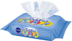 NIVEA Baby Multi Toddies 60 ks - vlhčené obrúsky