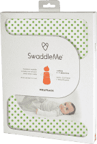 SUMMER INFANT Spací vak SwaddleMe zelené puntíky