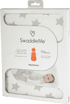 SUMMER INFANT SwaddleMe Spací vak šedé hviezdy