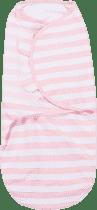 SUMMER INFANT Zavinovačka SwaddleMe L ružovo / biely prúžok