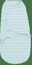 SUMMER INFANT Zavinovačka SwaddleMe L tyrkysový prúžok