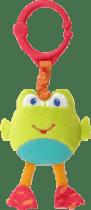 BRIGHT STARTS Hračka na C krúžku Take'n Shake, žaba, 0m +