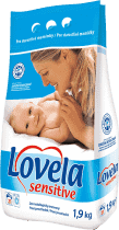 LOVELA Sensitive 1,9kg - środek do prania