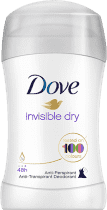 DOVE Invisible Dry Dezodorant Deo Stick 40 ml – antyperspirant