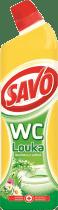 SAVO WC čistič Vůně louky 750ml