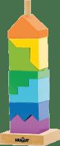 WOODY Kolorowa wieża do składania