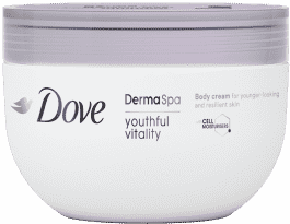 DOVE Dermal Spa telový krém Youthful Vitality 300ml