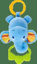 BRIGHT STARTS Hračka na C krúžku Tug Tunes s melódiou - slon