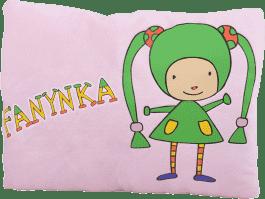 MIKRO TRADING Poduszka Fanynka