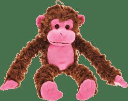 MIKRO TRADING Małpka różowa 44cm