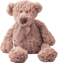 LUMPIN Medveď s mašľou, stredné