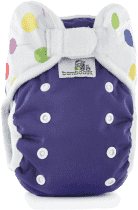 BAMBOOLIK Vrchné nohavičky, fialová+balóniky