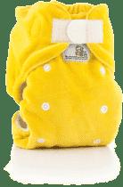 BAMBOOLIK Nočná nohavičková látková plienka, žltá