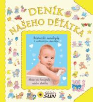 KNIHA Deník našeho děťátka (CZ)