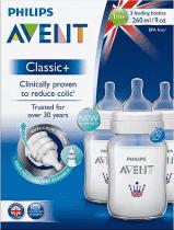 AVENT Classic+ láhev 260ml 1m+ (3ks) – UK edice