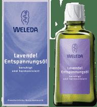 WELEDA Levanduľový upokojujúci olej 100ml