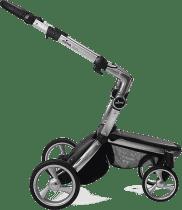 MIMA Xari kočík 3G - podvozok strieborný