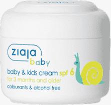 ZIAJA Baby krém pre deti SPF6 50ml