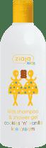 ZIAJA Kids šampon + sprchový gel 2 V 1 vanilkovo-sušenková zmrzlina 400ml