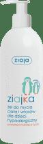 ZIAJA Baby gél na umývanie tela a vlasov 400ml / Tučniak /