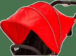 VALCO Bouda k Snap 4 – červená