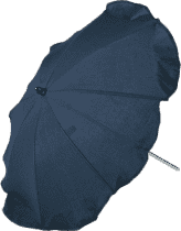 ZOPA Parasol przeciwsłoneczny do wózka, niebieski