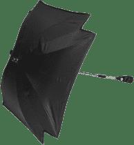 ZOPA Slnečník štvorcový + UV, čierna