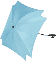 ZOPA Parasol przeciwsłoneczny kwadratowy + UV, niebieski