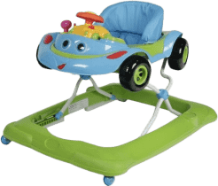 ZOPA Detské chodítko Cars, zelené
