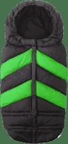 7 A.M. ENFANT Śpiworek do wózka 3w1 Blanket 212 Chevron, Black / Green