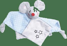 BEBE-JOU Plyšový mazlící ubrousek Myška Little Mice