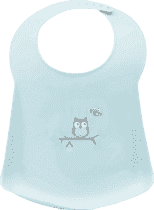 BEBE-JOU Plastový podbradník Owl family