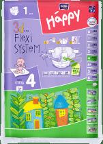 BELLA HAPPY Maxi 8-18 kg (1 szt.) – pieluszki jednorazowe