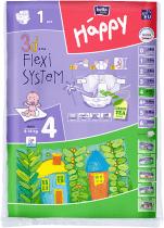 BELLA HAPPY Maxi (8-18kg) 1ks - jednorazové plienky