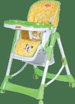PATRON Jídelní skládací židle pro děti troll – žlutá/motýl