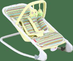PATRON Lehátko dětské relax – citronové pruhy