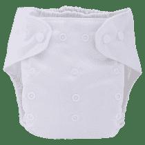 BOBOLIDER Plenkové kalhotky ECO Bobolider B22 – bílé, vložka z mikrovlákna
