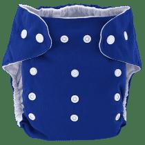 BOBOLIDER Plienkové nohavičky ECO Bobolider B6 - tmavomodré, vložka z mikrovlákna